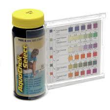 Aquachek Select Color Chart Aqua Chek Select 7 In 1 Test Kit 50 Ct