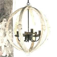 metal orb chandelier vineyard and wood fabulous round distressed ch metal orb chandelier sphere globe wood