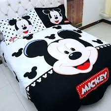 home textiles kids boys mickey mouse bedding set queen king size duvet cover comforter bedroom