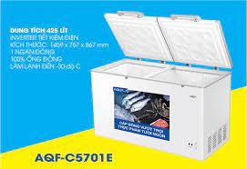 Tủ đông Aqua Inverter 425 lít AQF-C5701E chính hãng giá kho tại Tín Phát