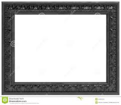 black picture frame. Royalty-Free Stock Photo Black Picture Frame N