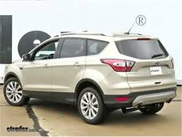 curt trailer wiring harness installation 2017 ford escape video Trailer Hitch Plug at Installing Trailer Hitch Wire Harness 2014 Escape