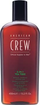 <b>American Crew 3-in-1</b> Tea Tree Shampoo, Conditioner and Body ...