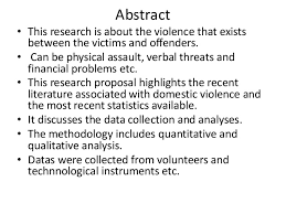 Domestic Violence Research Proposal   Domestic Violence   Violence National Center on Domestic and Sexual Violence