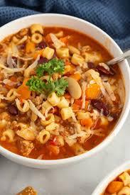 Instant Pot Pasta e Fagioli Soup - Recipe Girl®