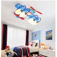 childrens room lighting. -16% LED Ceiling Lamp Creative Cartoon Children\u0027S Room Airplane Boy Lighting Childrens