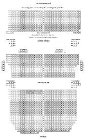 Victoria Palace Seating Chart Victoria Palace Theatre Seating Plan View The Seating