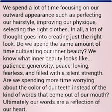 best inner beauty quotes images words favorite  inner beauty leaves you glowing