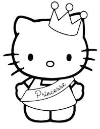 Hello Kitty Da Stampare E Colorare