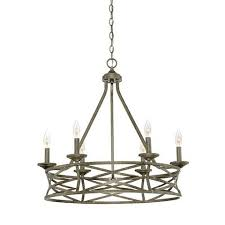 2176as or 2176vg this 6light antique silver vintage gold chandelier from millennium would gold and silver chandelier u38