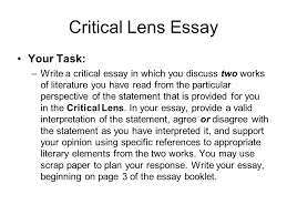 the new york state english regents ppt 9 critical