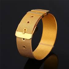 compare prices on wide belt men watch online shopping buy low kpop wide bracelets bangles adjustable for men women 21cm punk watch band belt mesh wrap