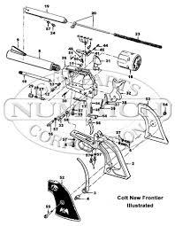 Peacemaker g k q frame schematic numrich rh gunpartscorp colt saa backstrap colt saa 1st generation