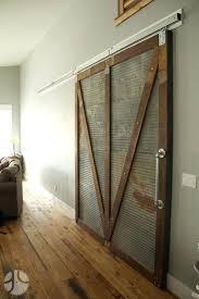 corrugated metal barn doors barn door with corrugated sheet metal mount on reclaimed corrugated metal from corrugated metal