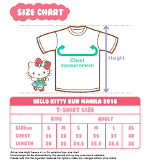 Hello Kitty Size Chart Filinvest City My Craziest Lifestyle