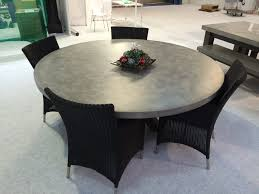 dining room cool round concrete dining table duluthhomeloan room tables australia poured set tops custom find