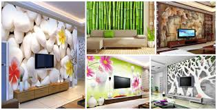 3d Wall Paper For Living Room (#99241 ...