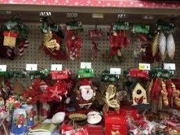 christmas decorations at dollar general