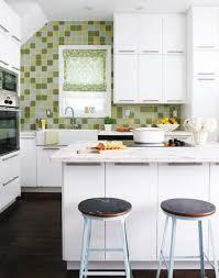 living room mini kitchen units white ceiling chrome faucet cabinet rangehood balck bar stool glass