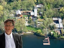 Crazy Facts About Bill Gates House Business Insider - Bill gates interior house