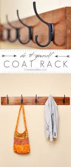 Easy Diy Coat Rack DIY Coat Rack Tutorial Diy coat rack Coat racks and Learning 68