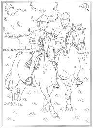 Paarden In De Stal Coloring Pages Pinterest Horse Kleurplaat