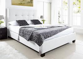 Ottoman Bedroom Storage Kaydian Walkworth Ottoman Storage Bed White Leather Ottoman