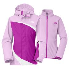 Inexpensive Ladies Pink North Face Jacket 6be28 3b200