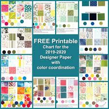 Free Download Of Stampinup Design Paper Chart Frenchie