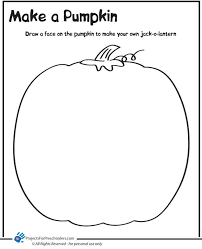 Small Picture Pumpkin Coloring Pages In Spanish Pumpkin Coloring Page Printable