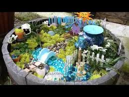 Small Picture Beautiful and natural fairy garden design YouTube
