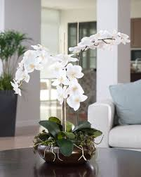 Contemporary Silk Floral U0026 Artificial Flower Arrangements  Make Artificial Flower Decoration For Home