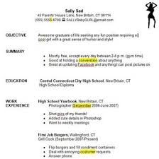 How To Write A Resume With No Job Experience How To Make A Resume