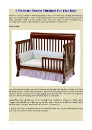 4 necessary nursery furniture for your baby by loaferchris issuu