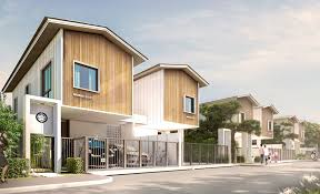 Rumah minimalis modern 2 lantai dengan taman belakang dan jalan setapak.hal ini menjadikan contoh desain rumah minimalis 2 lantai yang modern yang semakin unik. 25 Desain Rumah Minimalis 2 Lantai Untuk Keluarga Muda