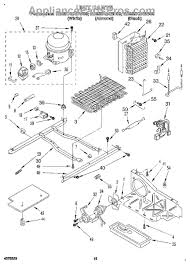 whirlpool condenser fan motor kit com part diagram