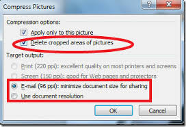 how to reduce screen size compress pictures to reduce file size of powerpoint 2010