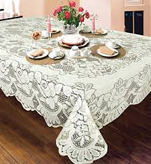 lann s linens 10 pack of 90 round ivory polyester tablecloth covers for weddings banquets or restaurants kitchen dining 5r5j9svck