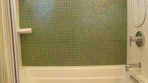 Olive Green Brio Mosaic Glass Tile Pearl Modwalls Designer Clipgoo