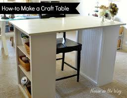 craft room ideas bedford collection. How To Make A Craft Table Room Ideas Bedford Collection E