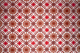 Red Flower Wallpaper Brown And Red Flower Wallpaper Texture Picture Free Photograph