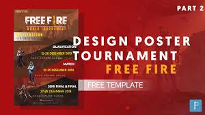 Pixellab Tutorial Cara Membuat Desain Poster Turnamen Free Fire Youtube