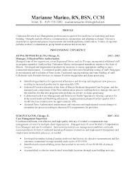Nurse Case Manager Resume Examples Resume Format 2017