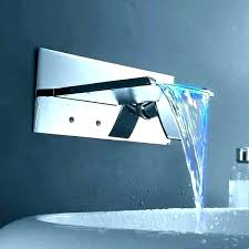 waterfall faucet for bathroom sink wall mounted waterfall faucets bathroom wall mounted waterfall faucets for bathroom