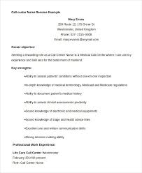 Call Center Resume Examples Delectable Call Center Resume Example 48 Free Word PDF Documents Download