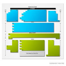 Norshor Theatre 2019 Seating Chart