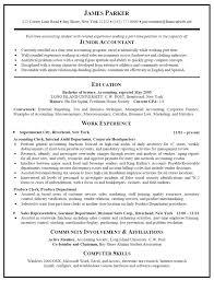 Sample Resume Accounting Accounting Clerk Resume Jobsxs Com