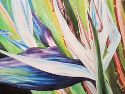 barbara eberhart fl piainting large scale fl oil paiting stunningly brilliant fl painting