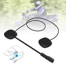 Tai Nghe Bluetooth 5.0mh04 Có Thể Sạc Được Cho Nón Bảo Hiểm Xe Mô Tô - Tai  nghe Bluetooth chụp tai Over-ear