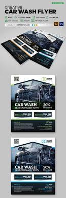 Car Wash Retro Style Car Wash Retro Style And Flyer Template Car ...